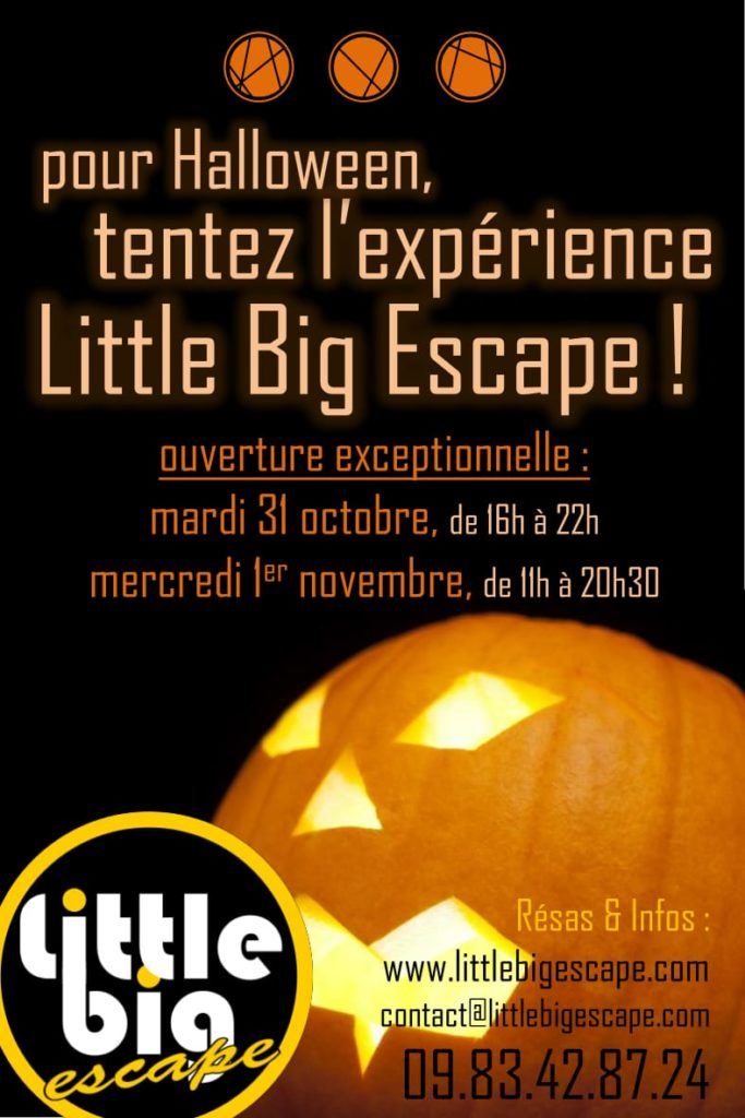Escape Game Halloween